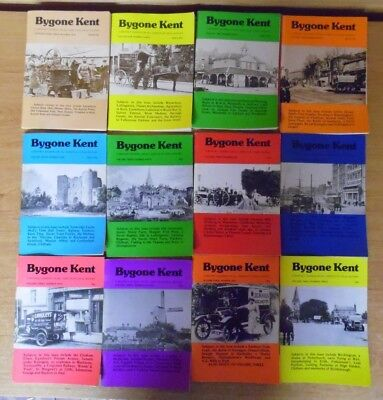 12 x Bygone Kent Local History Journal Volume 1-4 & Introductory Issue Job Lot A
