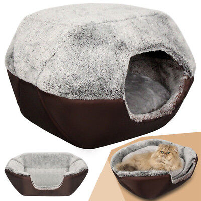 Good Soft Warm Washable Pet Dog Cat Bed Nest Ger with Removable Cushion 2019 CHZ