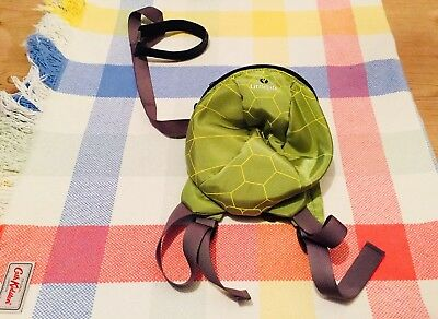 Little Life Green Tortoise Backpack Detachable Safety Reins Combi
