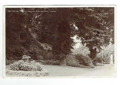 Old Postcard Castle Walk & Northenhay Exeter Devon Judges Real Photo Used 1911