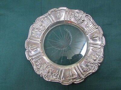 Reed & Barton-Francis I - Sterling Silver - Lemon Tray Or Wine Coaster