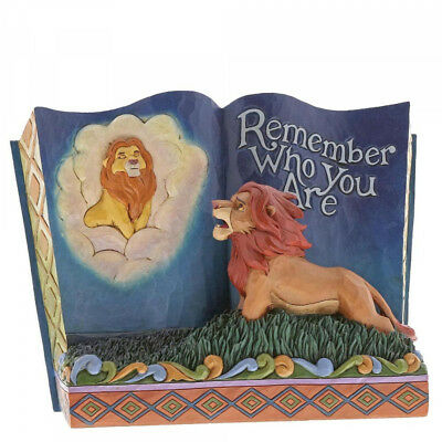 Disney Traditions 6001269 Lion King Storybook Remember Who You Are - New & Boxed