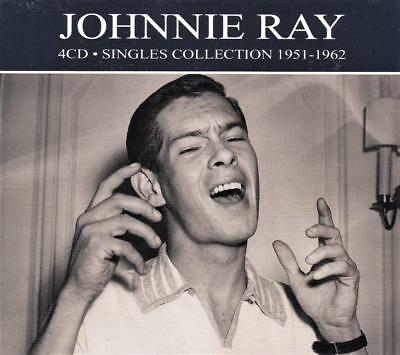 Johnnie Ray - Singles Collection - 1951 - 1962  (New Sealed 4Cd )