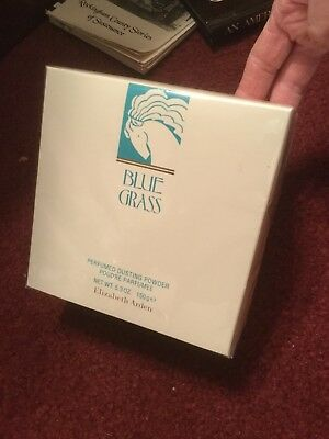 Elizabeth Arden Blue grass Perfumed Dusting Powder 150g/5.3oz.