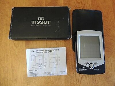 Tissot Touch Screen Databank Radio PDA VGUC Personal Organizer