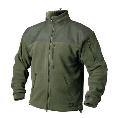 HELIKON TEX CLASSIC 300er ARMY OUTDOOR FLEECE JACKE JACKET Oliv Green L Large