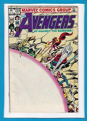 Avengers #233_July 1983_Vg+_Fantastic Four_Vision_Scarlet Witch_Annihilus!