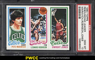 1980 Topps Basketball Pete Maravich Robinson Dwight Jones PSA 10 GEM MINT (PWCC)