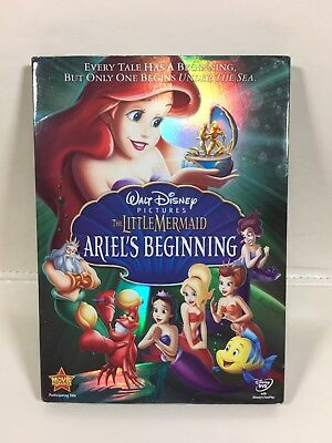 Walt Disney The Little Mermaid Ariel's Beginning DVD 2008