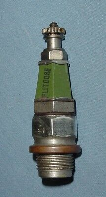 NOS Splitdorf 18mm Vintage Antique Motorcycle Spark Plug Indian Henderson Thor