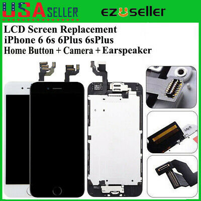 For Apple iPhone 6 6Plus 6S Plus LCD Touch Digitizer Complete Screen Replacement