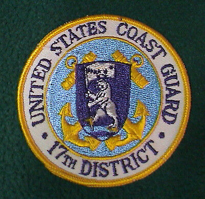 US Coast Guard 17th District Alaska  Patch