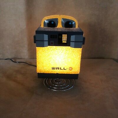 Disney Pixar WALL-E Table Desk Nightlight Yellow Robot lamp figure