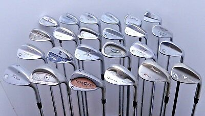 Lot of 24 Golf Club Wedges Ping Titleist Taylormade Cleveland Mizuno MSRP $2250