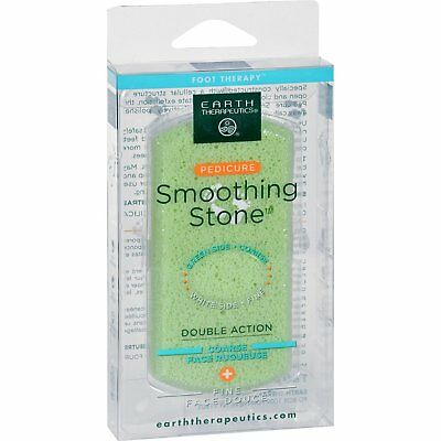 EARTH THERAPEUTICS - Dual Surface Pedicure Smoothing Stone - 1 Stone