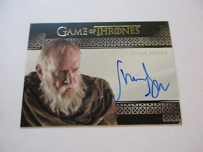 Game of Thrones Valyrian Steel Julian Glover  Grand Maester Pycelle VS Autograph