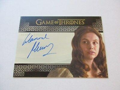 Game of Thrones Valyrian Steel Hannah Murray as Gilly VS Autograph