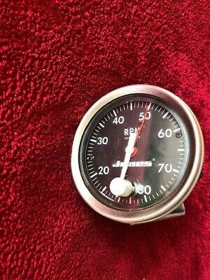 Jones Tachometer 5101 - S - 189  Ratio -4 Code Lg Classic Race Car Rev Counter