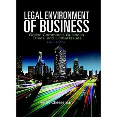 Legal Environment of Business 8th Edition by Henry Cheeseman [ebooks, PDF]