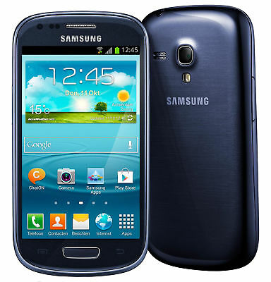 Samsung Galaxy S III Mini GT-I8190 - 8 GB - Pebble Blue (Unlocked) Smartphone