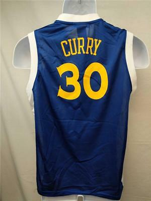 detailed look 7aed1 51879 NEW STEPHEN CURRY #30 Golden State Warriors YOUTH sizes S-M-XL NBA Blue  Jersey