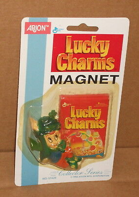 "3"" 1996 Lucky Charms Magnet General Mills Cereal New MOC"