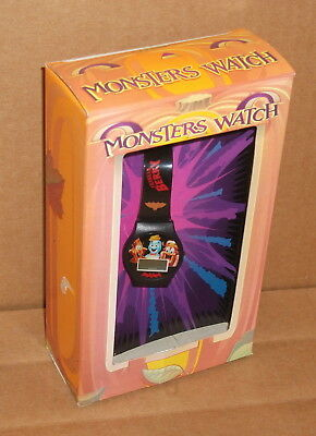 2000 Monsters Watch General Mills Boo Berry Franken Berry Count Chocula Mib