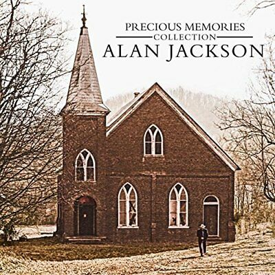 2 Pieces Set (2 Cd) Precious Memories Collection Alan Jackson Church Hymn Gospel