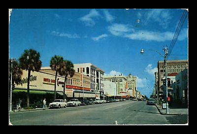Dr Jim Stamps Us Central Avenue St Petersburg Florida Chrome Postcard
