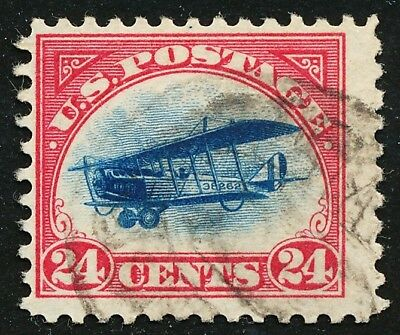 Dr Jim Stamps Us Scott C3 24C Curtiss Jenny Used No Reserve Free Shipping