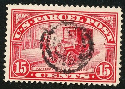 Dr Jim Stamps Us Scott Q7 15C Parcel Post Used No Reserve Free Shipping