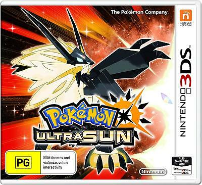 Pokemon Ultra Sun Nintendo 3DS Brand New Sealed