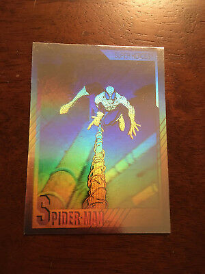 1992 Marvel Super-Heroes Hologram Set Spider-Man Hulk Punisher  Doctor Doom Ff