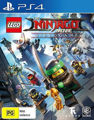 LEGO The Ninjago Movie Videogame - Playstation 4 (PS4) Brand New Sealed