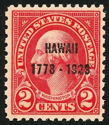 Dr Jim Stamps Us Scott 647 2C Washington Hawaii Unused Og Nh No Reserve