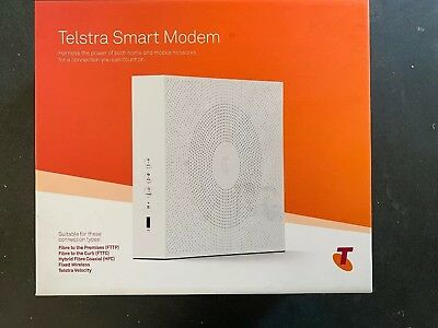 Telstra Smart Modem - NBN Ready - New In Box