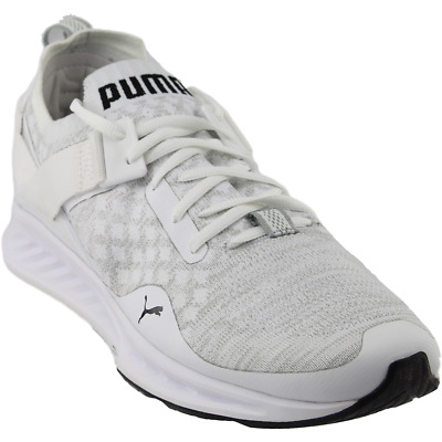 PUMA IGNITE EVOKNIT Low White Mens $39.95 | PicClick