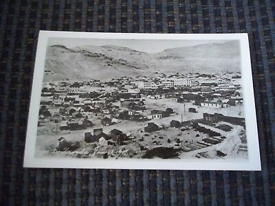 RPPC Unposted Postcard Ghost Town Rhyolite Nevada January 18, 1909
