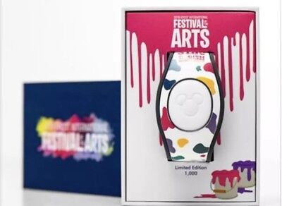 2019 DISNEY PARKS EPCOT FESTIVAL OF THE ARTS Event Magic Band FIGMENT LE 1000