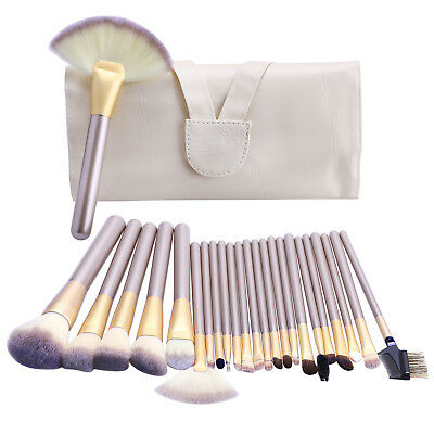 Professional Make up Brushes Set Cosmetic Kabuki Eyeshadow Makeup Tools Kit Bag