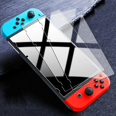 [3 Pack] For Nintendo Switch Premium 9H Tempered Glass Screen Protector Guard LE