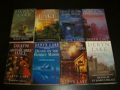 8 x Assorted Historical Books by Deryn Lake
