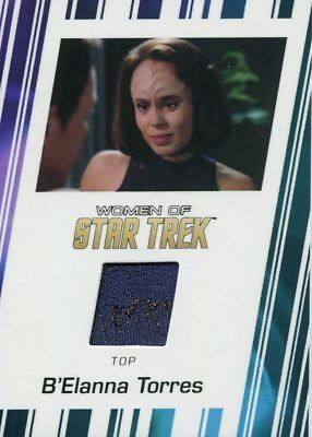 Women Of Star Trek 50th Anniversary Costume Card RC7 B'Elanna Torres