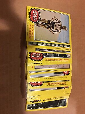 Series 3 Yellow Cards Over 20 Lot