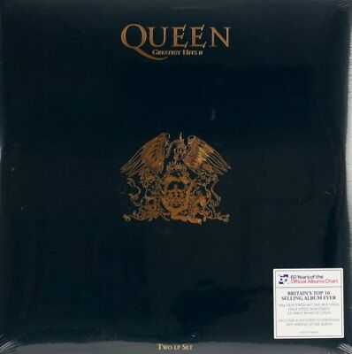 QUEEN - GREATEST HITS II - 2LP VINILE 180 gr. NUOVO  SIGILLATO