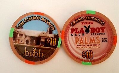 $10 Las Vegas Palms Mansion Grand Opening Casino Chip - UNCIRCULATED