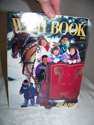 THE GREAT AMERICAN WISH BOOK  SEARS CATALOG 1991  (Original / Vintage)