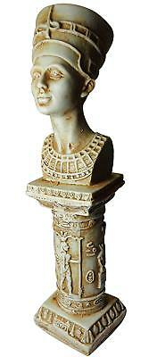 Queen Nefertiti Pharaoh statue ANCIENT EGYPT ANTIQUE Egyptian