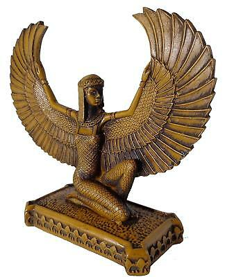 Isis Winged Pharaoh Figurine Statue ANCIENT EGYPT ANTIQUE Egyptian
