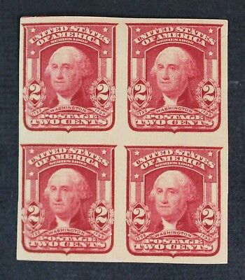 CKStamps: US Stamps Collection Scott#320a 2c Block Mint H OG Thin